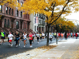 New York Marathon.